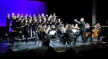 Phillips Exeter Academy's Concert Choir and Chamber Orchestra