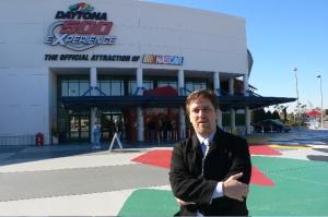 Keynote Speaker at January meeting of the Daytona Beach Ad Federation, held at the Daytona International Speedway